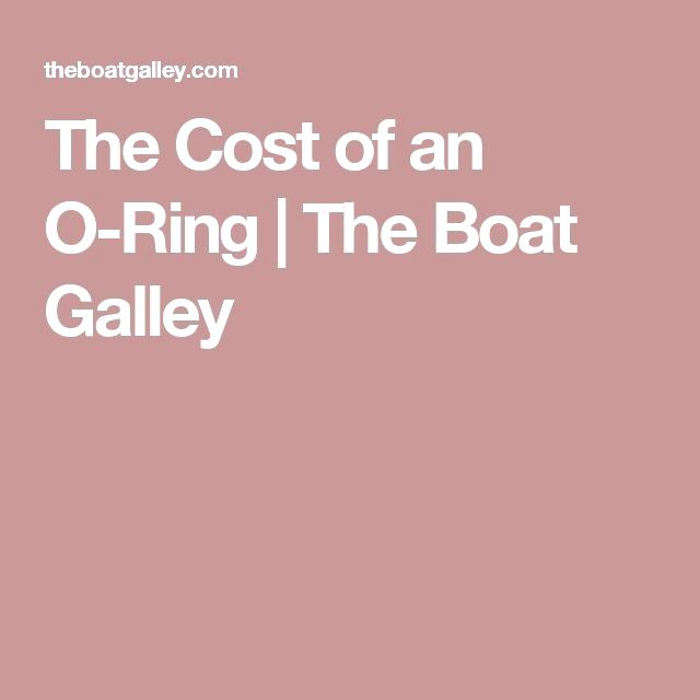 A minutely cracked o-ring in the deck fuel fill cost us dearly. Don ...
