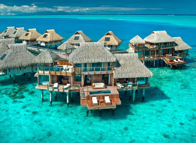 Bora Bora Hotels Are Built Over The Water Most Rooms Have