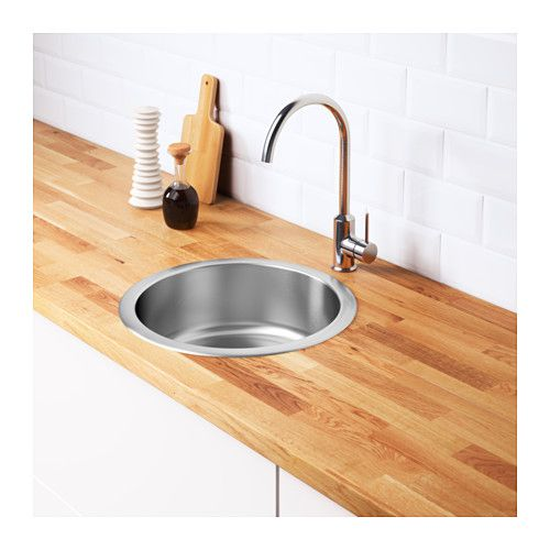 Boholmen Sink Stainless Steel 17 3 4x5 7 8 Inset Sink Sink Kitchen Design Small