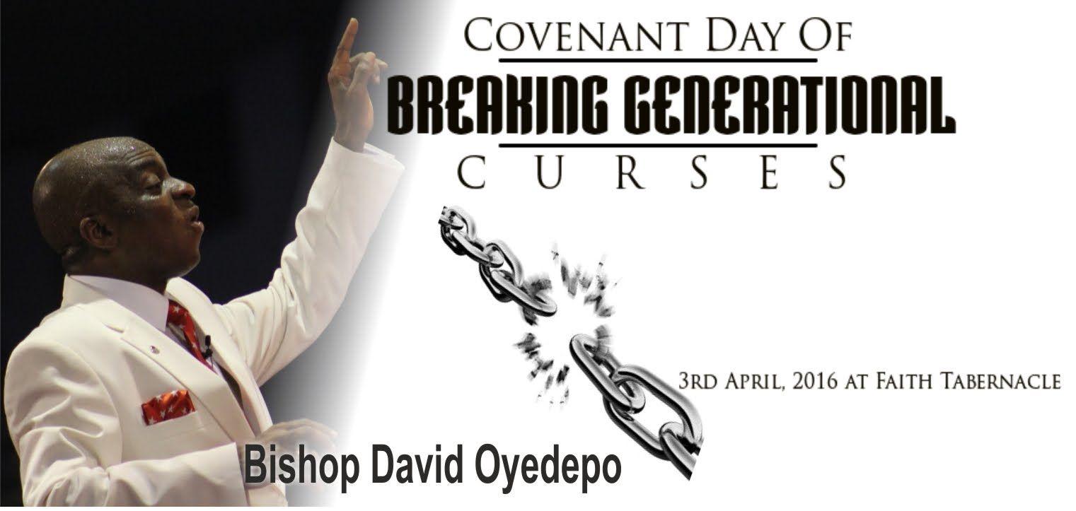 Bishop David Oyedepo Sermon @ COVENANT DAY OF BREAKING GENERATIONAL