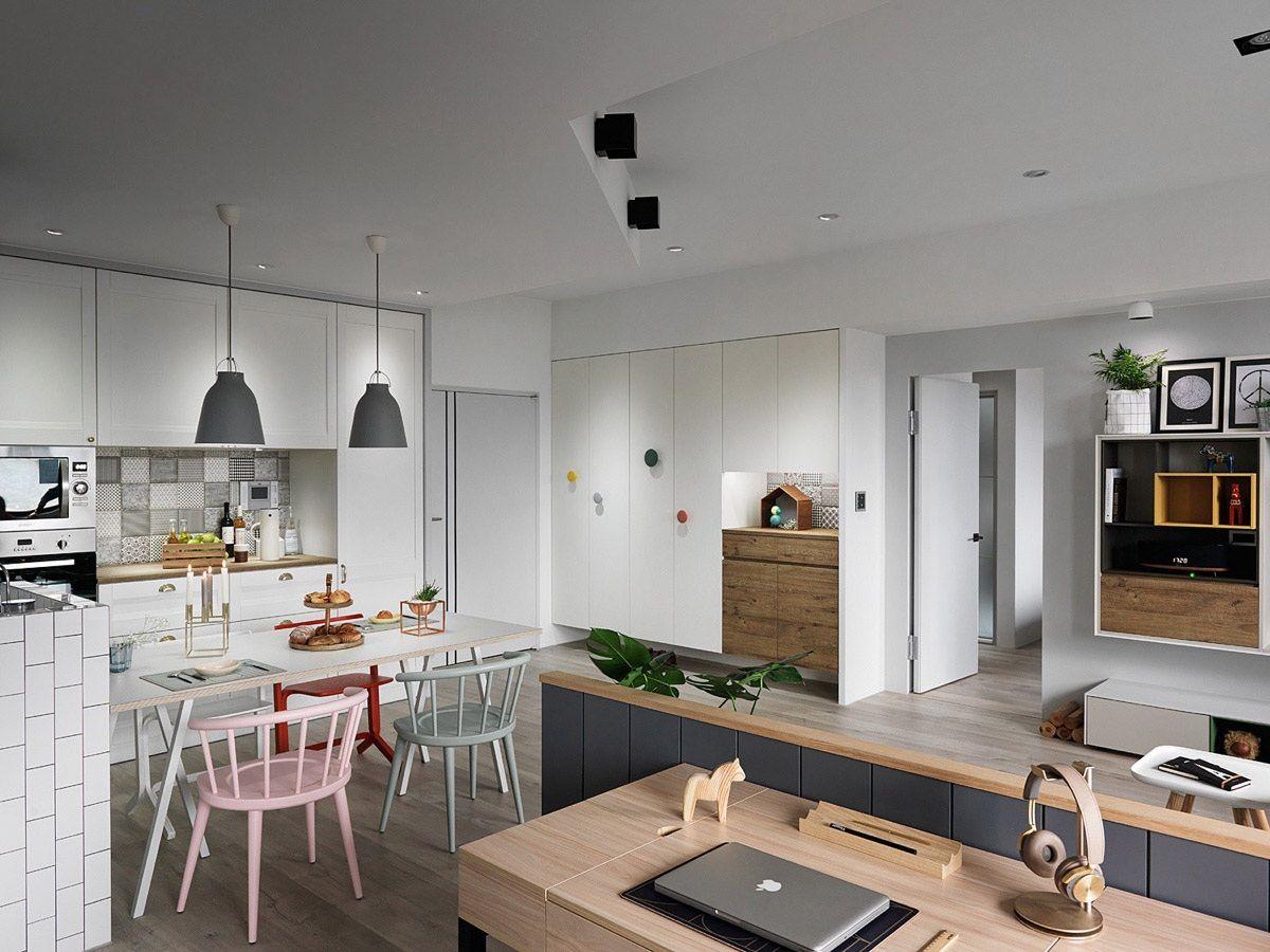 A Scandinavian Style Apartment That Exudes Chic Comfort Scandinavian Interior Design Inspiration Scandinavian Interior Design Apartment Design