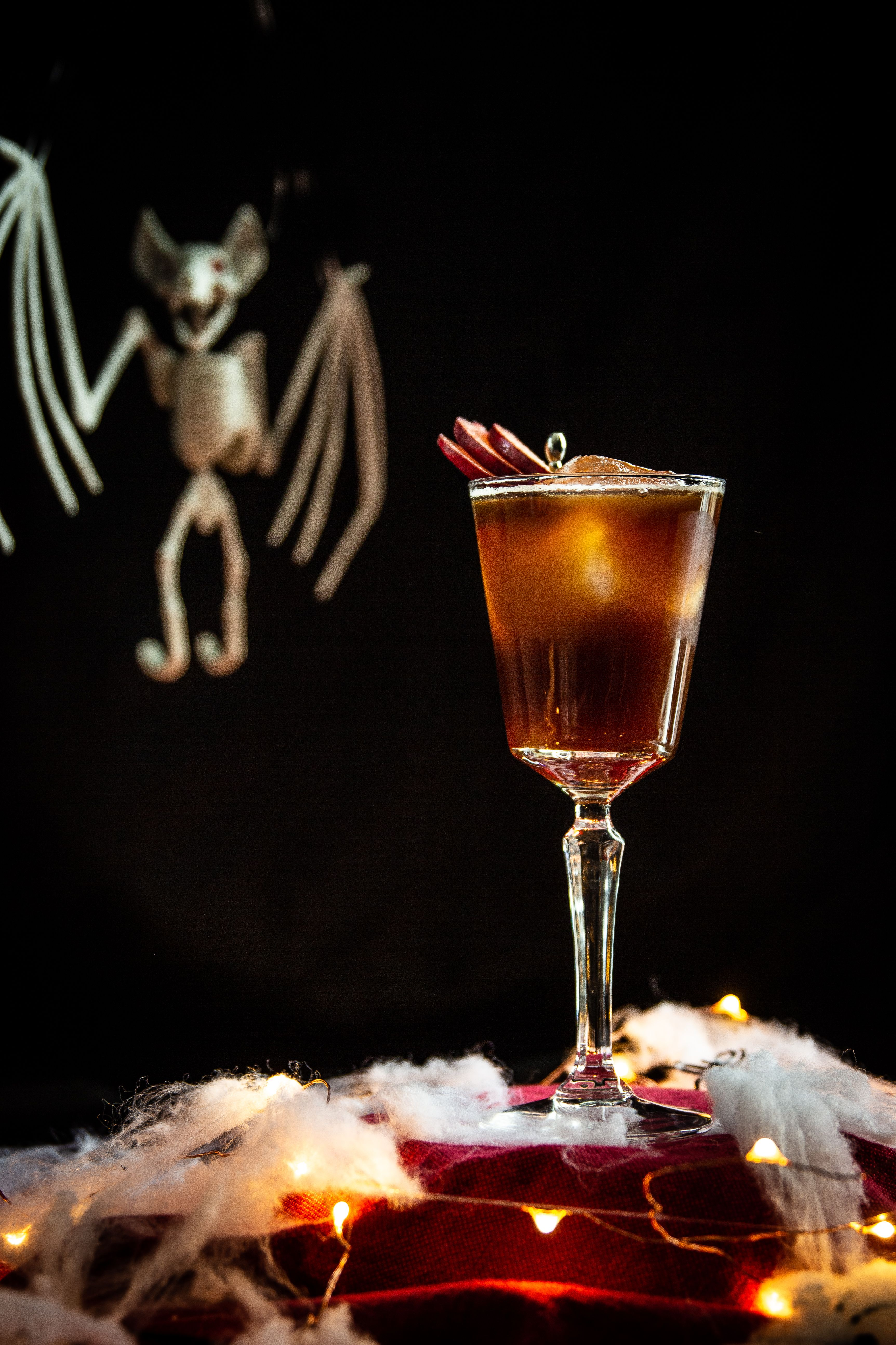 Double trouble a plum cognac and coffee brew recipe