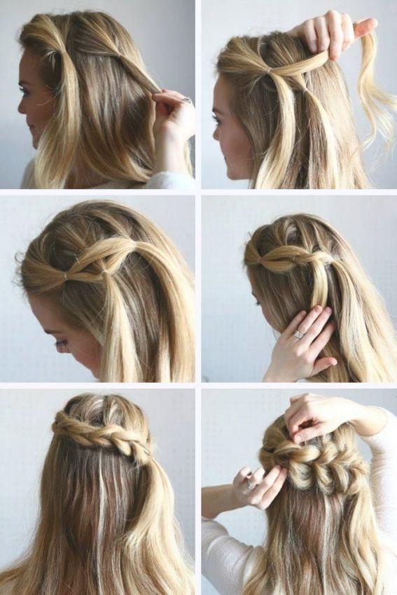 Braided Hairstyles Tutorial Step By Step Guidelines Easy Hairstyles Half Braided Hairstyles Braided Hairstyles Braided Hairstyles Tutorials