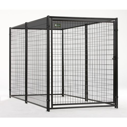 Akc 10 X 5 X 6 Welded Wire Kennel With Shade Cloth 369 Dog Kennel Panels Outdoor Dog Dog Kennel Outdoor