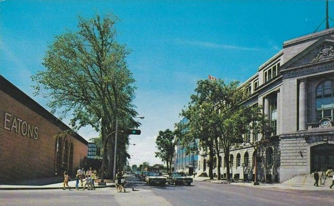 Highfield Square In Its Prime Vintage Moncton Moncton The Good Old Days Photo