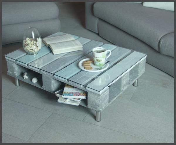 Costruire Tavolino ~ Come costruire un originale tavolino da salotto riciclando un