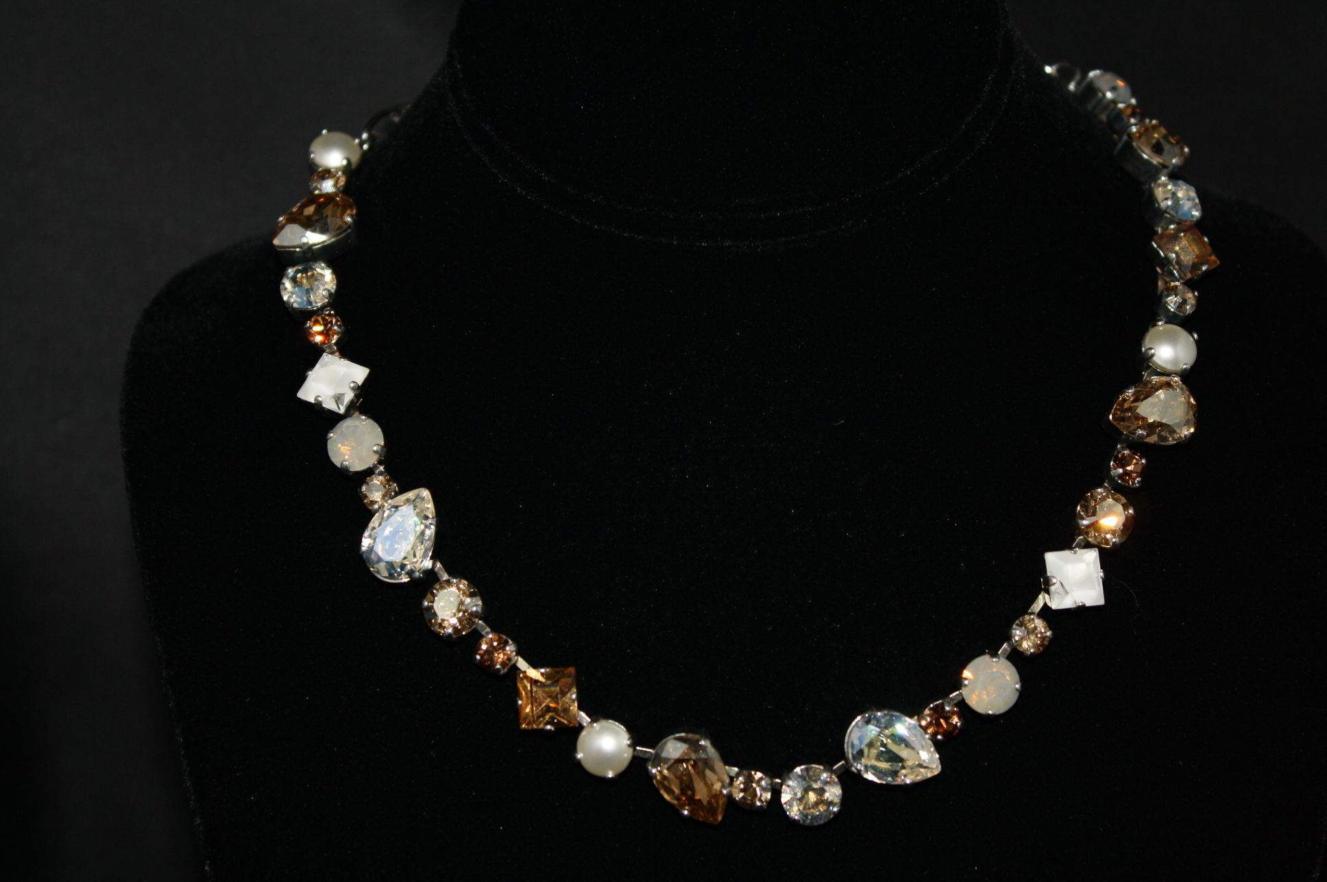 spring crystal jewelr point quartz original shop canadian jewelry products clear necklace large
