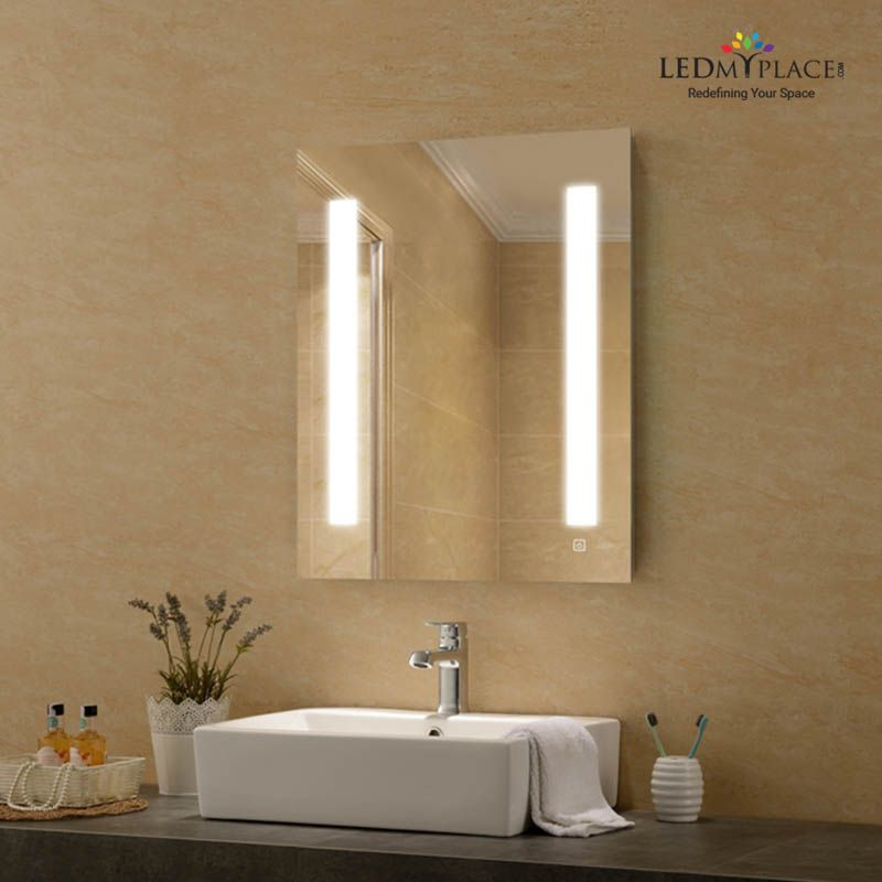This 36 X 48 Led Bathroom Lighted Mirror Is A Mirror With