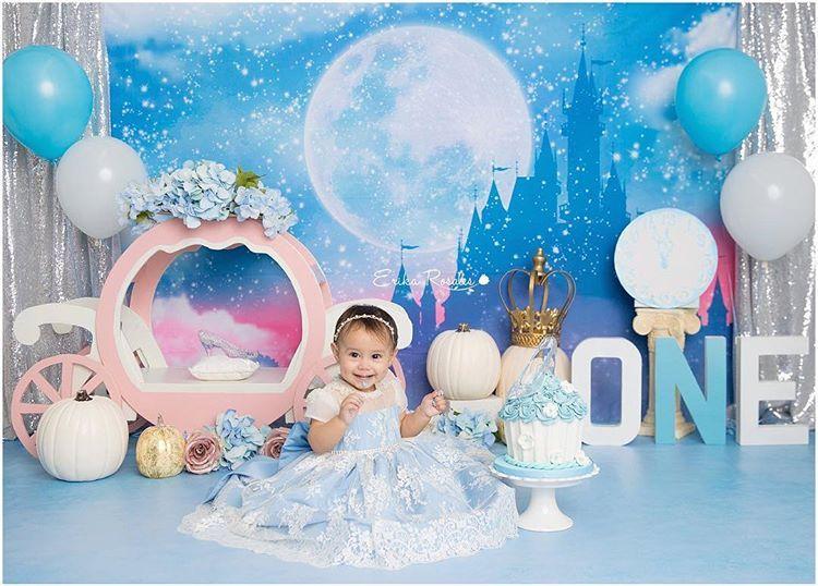 Awe Inspiring Cinderella Cake Smash First Birthday Cinderella Theme With Images Personalised Birthday Cards Petedlily Jamesorg