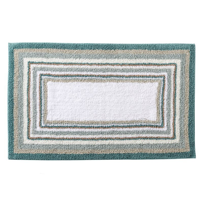 SONOMA Life Style Reversible Striped Bath Rug X - Reversible bathroom rugs for bathroom decorating ideas