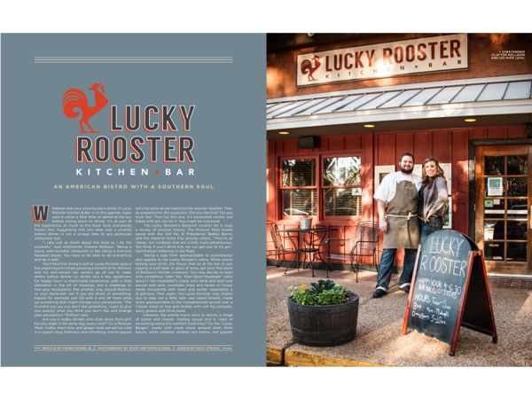 Hilton Head Magazines Ch2 Cb2 Lucky Rooster Kitchen Bar An American Bistro With A Southern Soul Kitchen Bar Hilton Head Rooster Kitchen