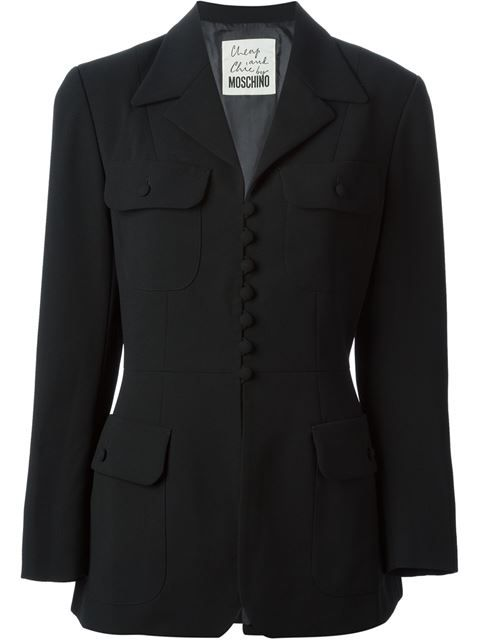 Shop Moschino Vintage four pocket blazer in House of Liza from the world's best independent boutiques at farfetch.com. Over 1000 designers from 60 boutiques in one website.