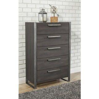 Sandberg Furniture Arts District Loft 5 Drawer Chest Bedroom Furniture For Sale 5 Drawer Chest Drawers