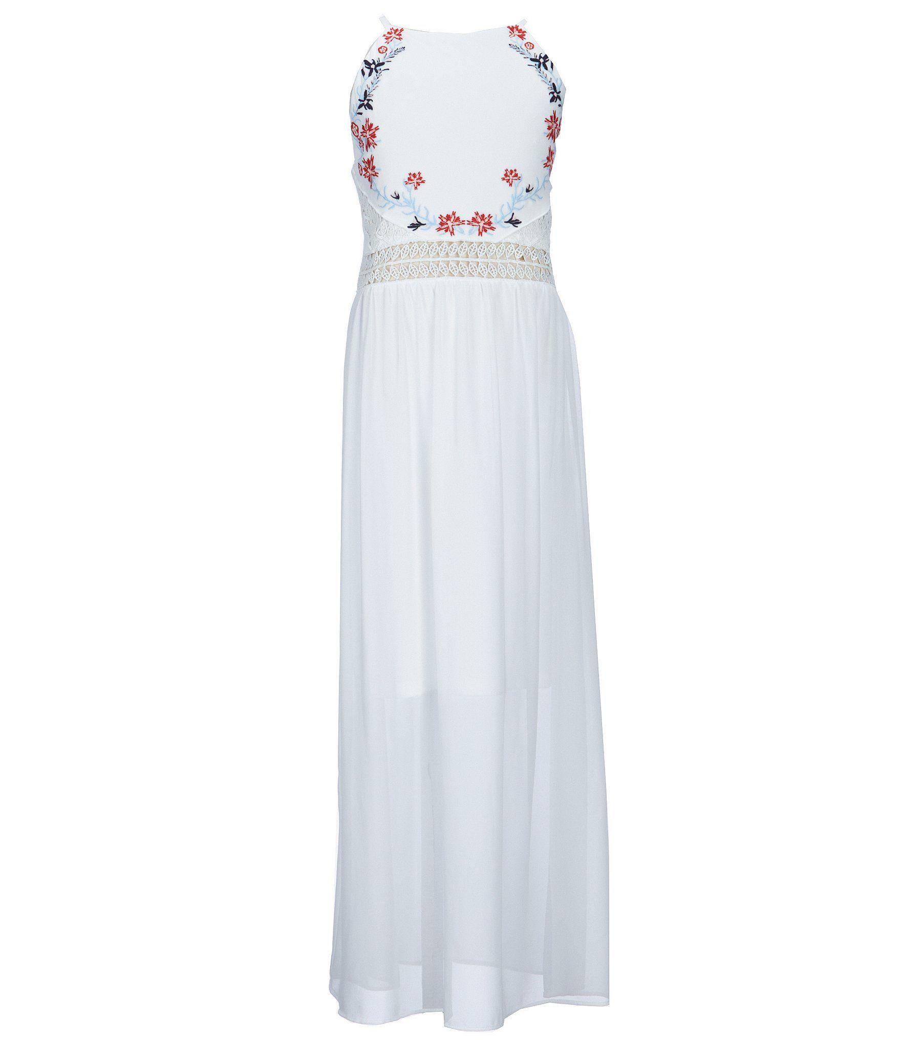 6640cb10bb7e Shop for I.N. Girl Big Girls 7-16 Embroidered Long Dress at Dillards.com. Visit  Dillards.com to find clothing