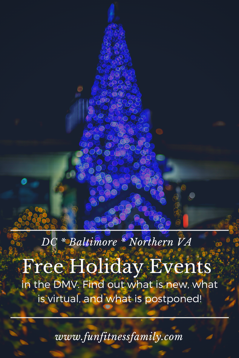 Free Holiday Events In The Dmv Dc Maryland And Virginia In 2020 Holidays And Events Christmas Activities For Families Christmas Gifts For Kids