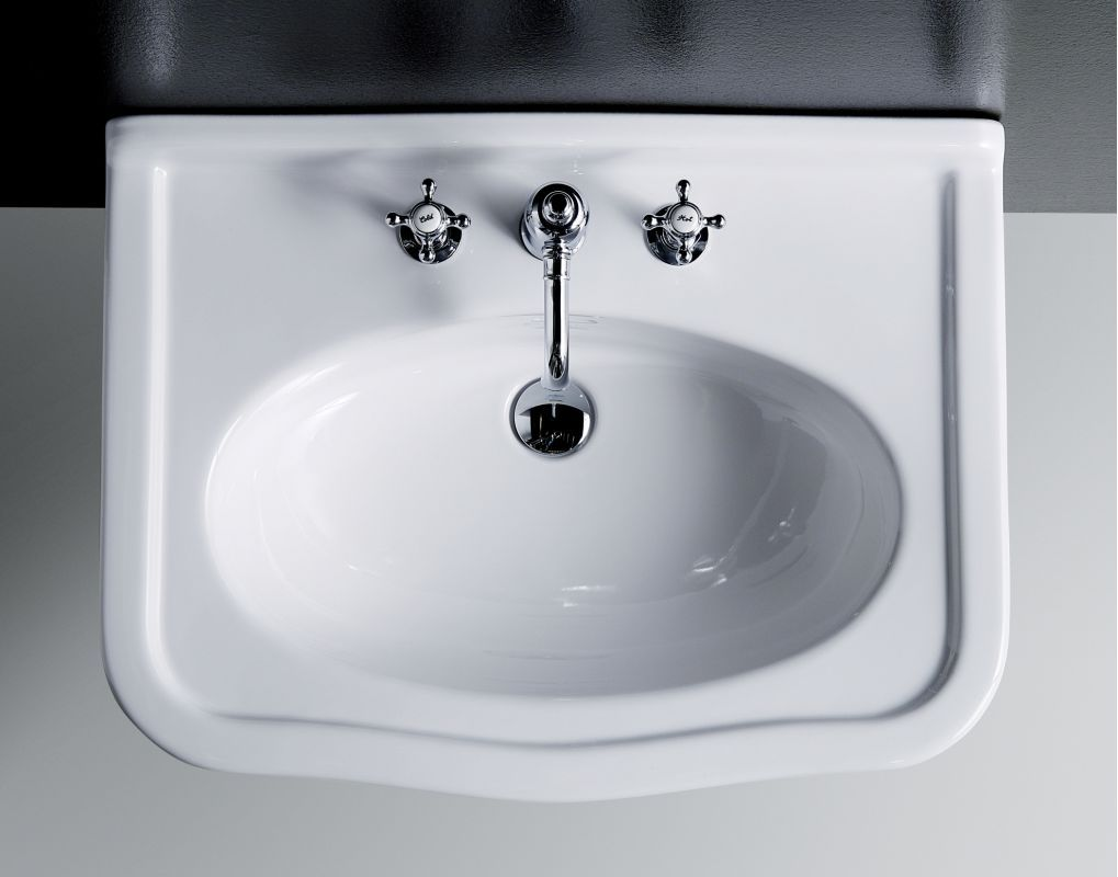 Bissonnet Lo914 Florian Sink Over Head View In Full Size Console Sinks Bathroom Console Bathroom Sink