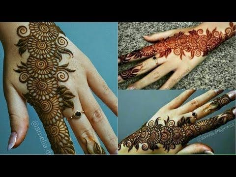 Simple Arabic Mehndi Design Latest Arabic Mehndi Design 2018 Back