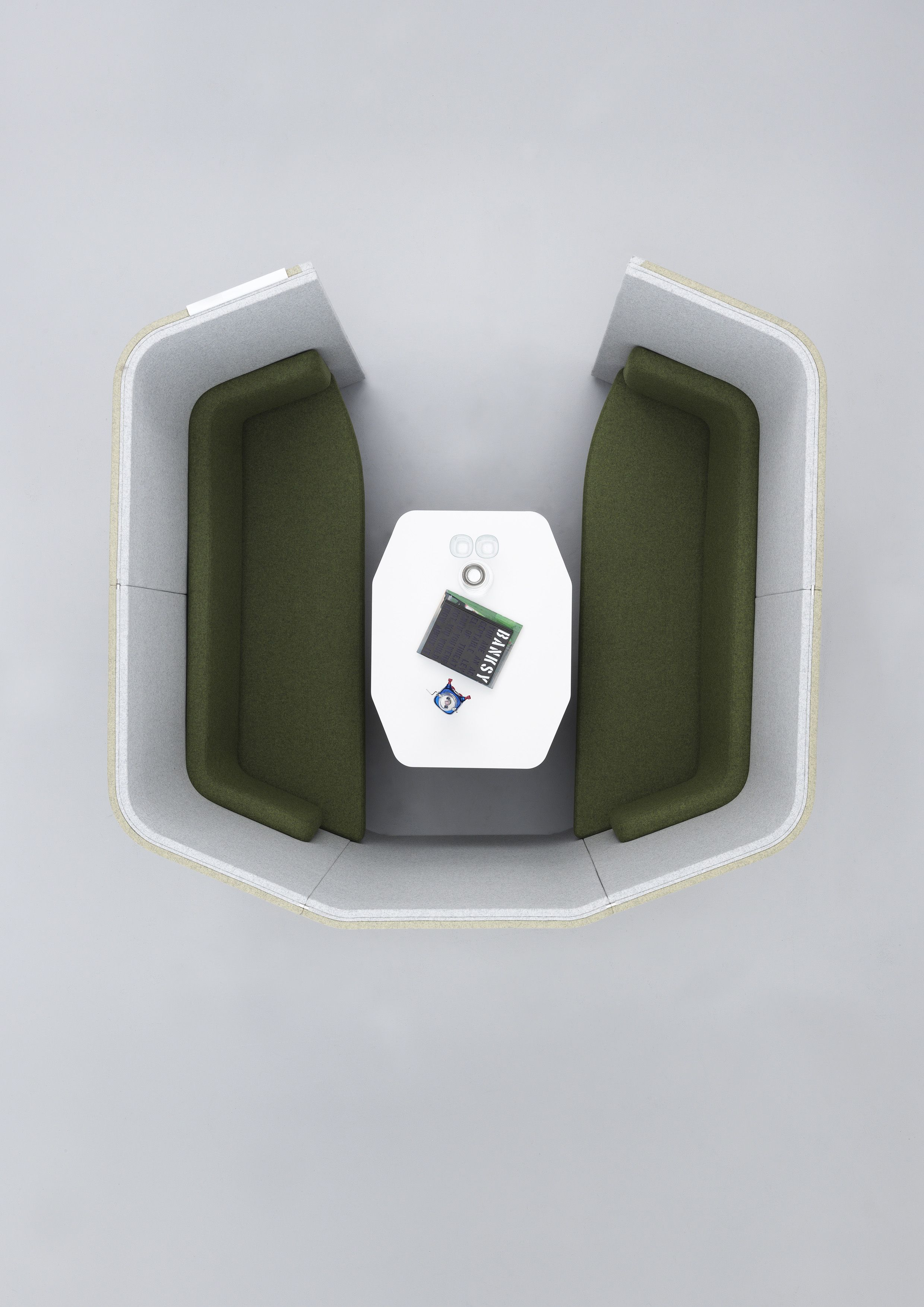 Haven Quad Pod. The open office has delivered many ...