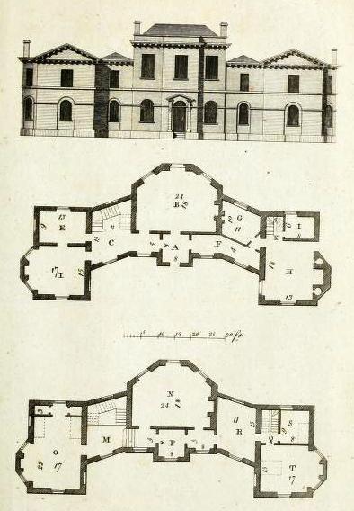 Syon House Plan | Dom / House | Pinterest | House, Architecture ...