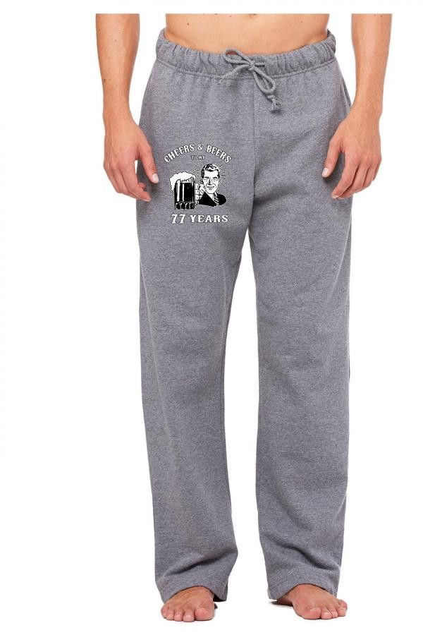 cheers and beers 77 Sweatpants