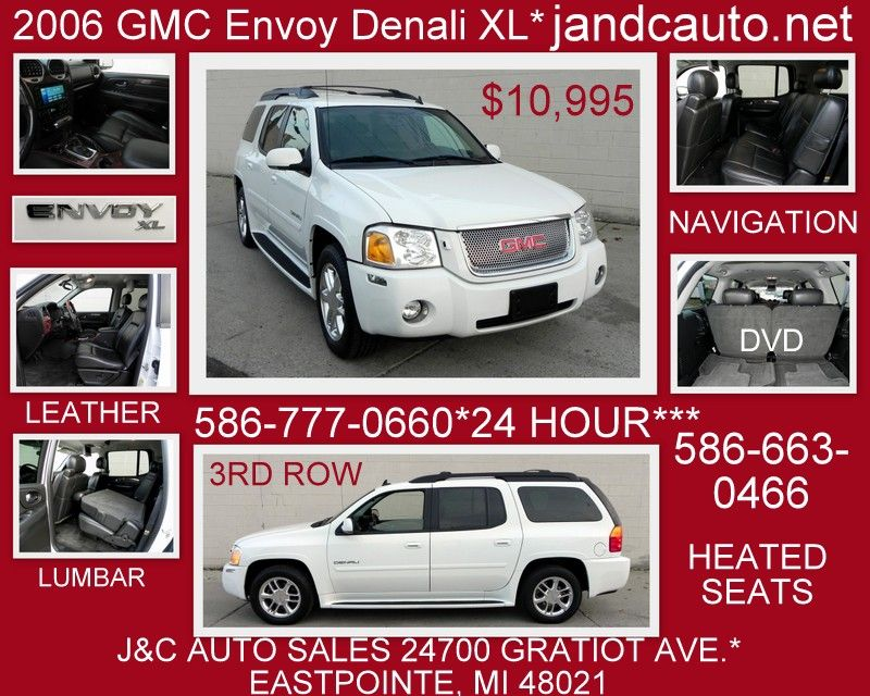 Price 10 995 Year 2006 Make Gmc Model Envoy Trim Xl Denali 4wd Mileage 116 280 Stock 4345 Vin 1gket66m066168855 With Images Cars For Sale Gmc Envoy Denali Gmc