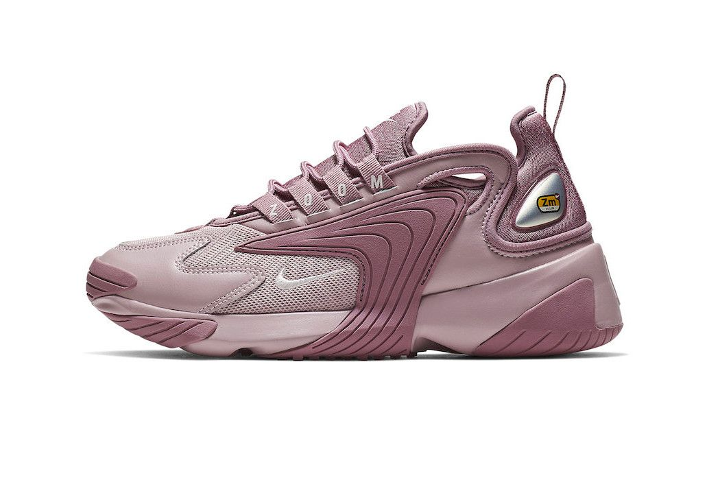 2c06fa44ccaf Nike Introduces the Zoom 2K Sneaker model first look black white colorway  purple pink women s price release date info