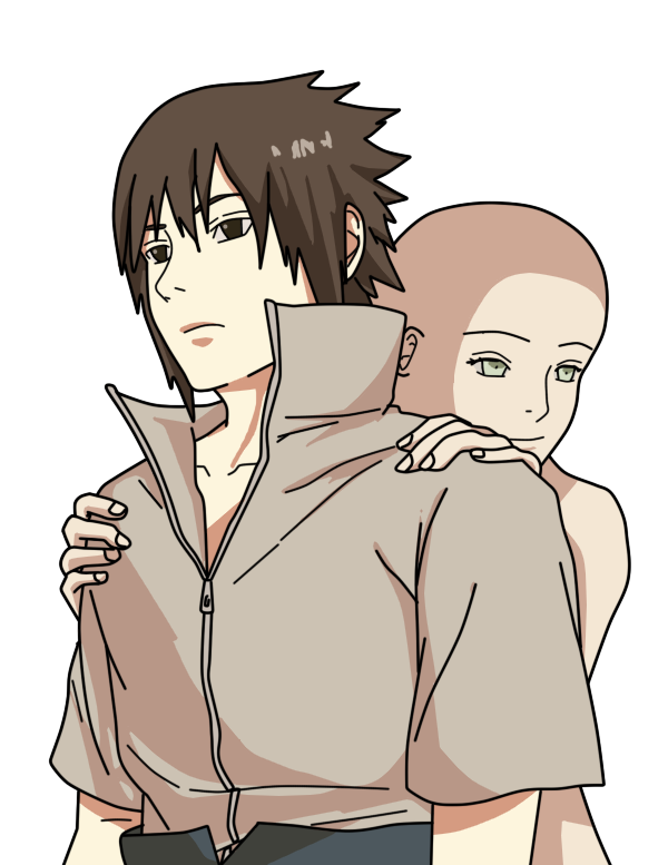 Sasuke protecting base by Basemakerofdarkness in 2020 | Best anime ...