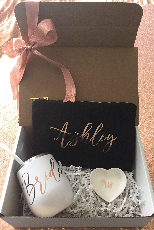 Bride gift box engagement gift future mrs box