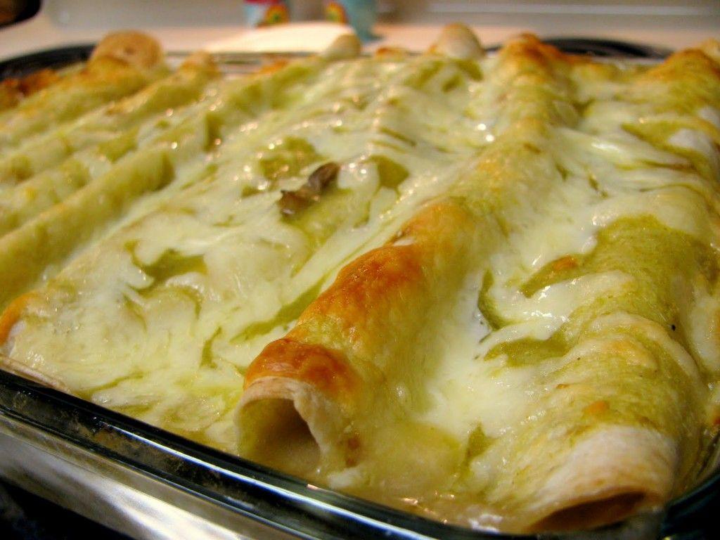 Colorado style green chile enchilada recipe green chile