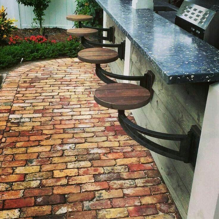 Outdoor Kitchen Ideas On A Budget: Outdoor Bar! Great Lakes Stoneworks Is One Of The Areas