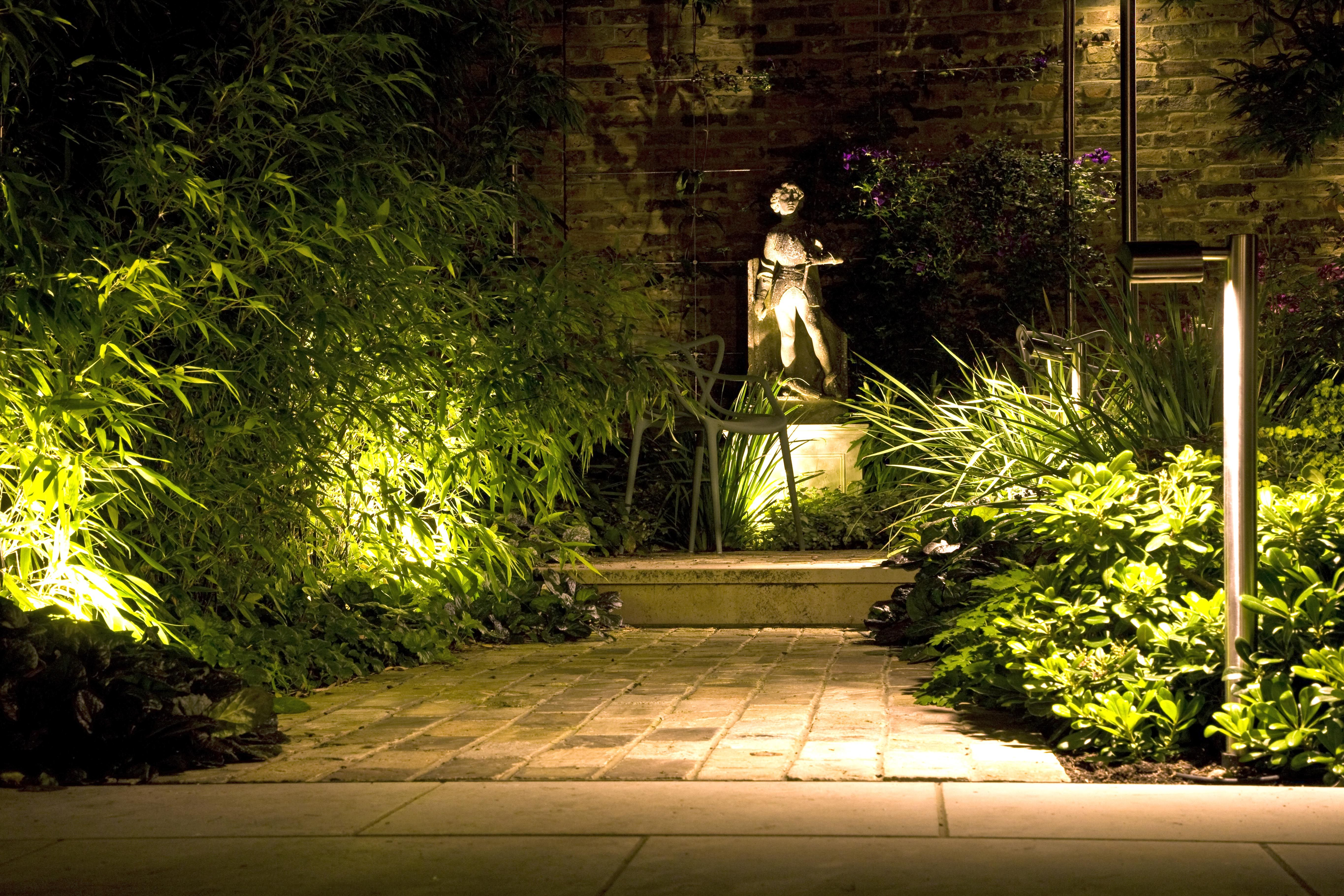 This path was also lit by using Hunza border light in stainless steel plus the adjustable & This path was also lit by using Hunza border light in stainless ... azcodes.com