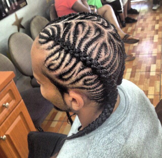 Wondrous 1000 Images About Men39S Braid Stylez On Pinterest Low Hairstyles For Men Maxibearus