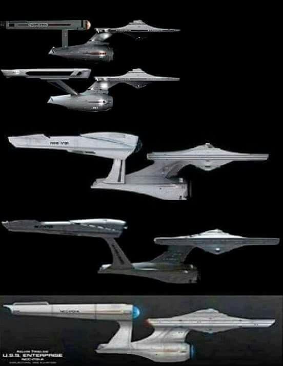 uss enterprise ncc 1701 evolution star trek misc 145 star trek ships uss. Black Bedroom Furniture Sets. Home Design Ideas