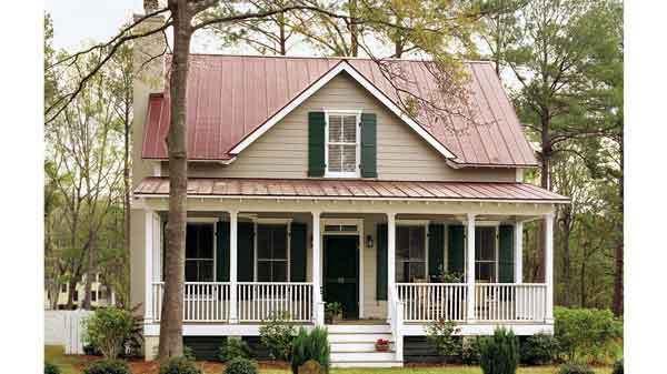 Sl 671 Cottage Plan Cottage House Plans Cottage Homes