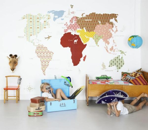 tapete im kinderzimmer erschaffen sie ein paradies f r ihre kinder wall pinterest. Black Bedroom Furniture Sets. Home Design Ideas