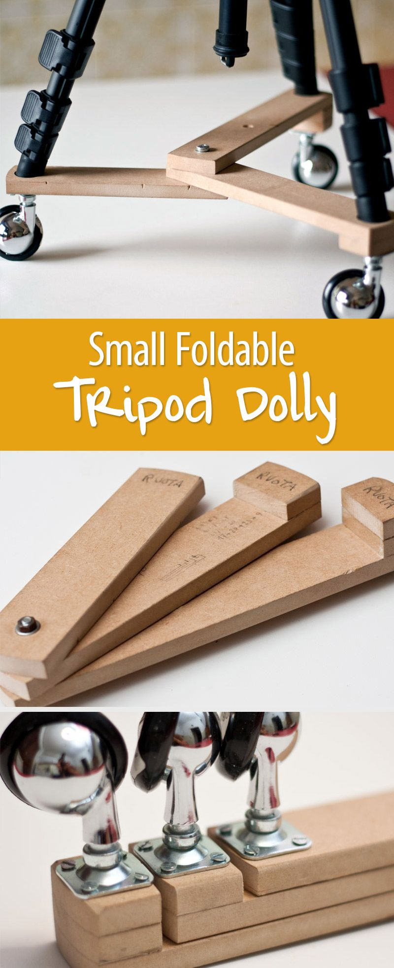 Small Foldable Tripod Dolly Diy Photography Diy Tripod Diy Camera