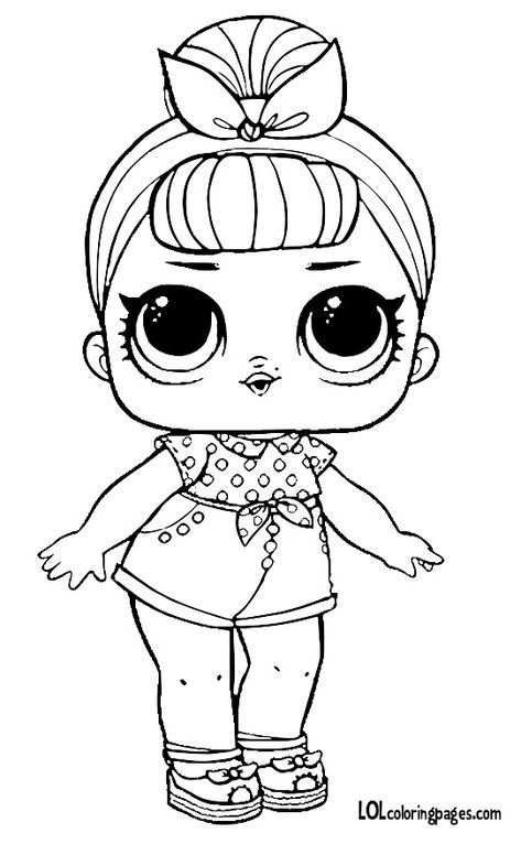 Pin By Kelley Woods On Lol Dolls Cute Coloring Pages Coloring Pages Printable Coloring Pages
