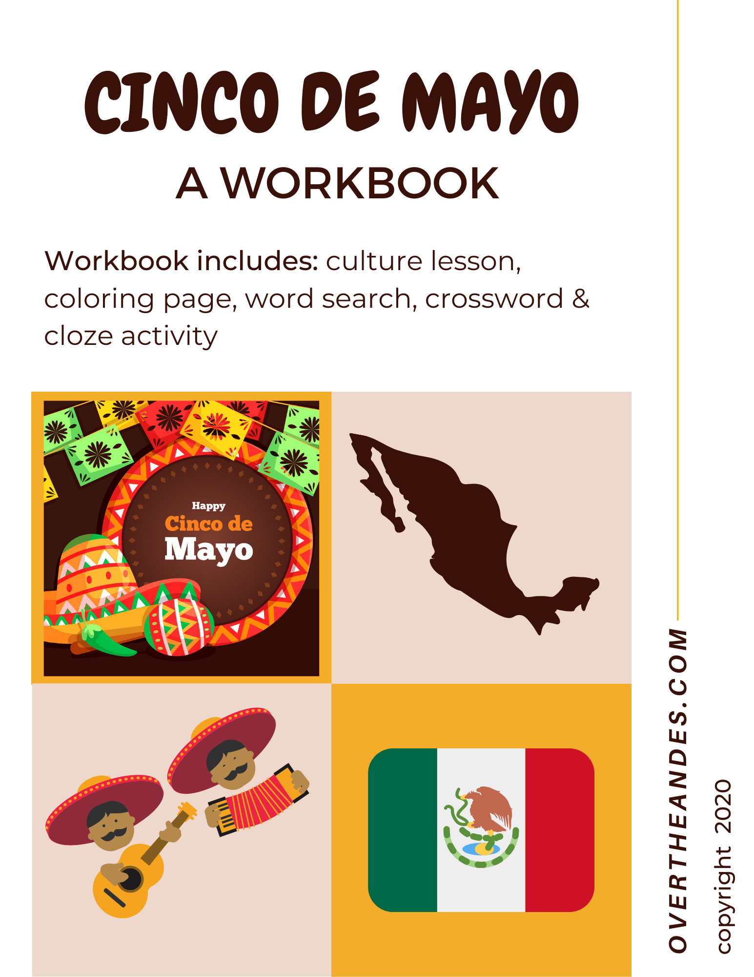 Cinco De Mayo Workbook Culture Reading Plus Activities