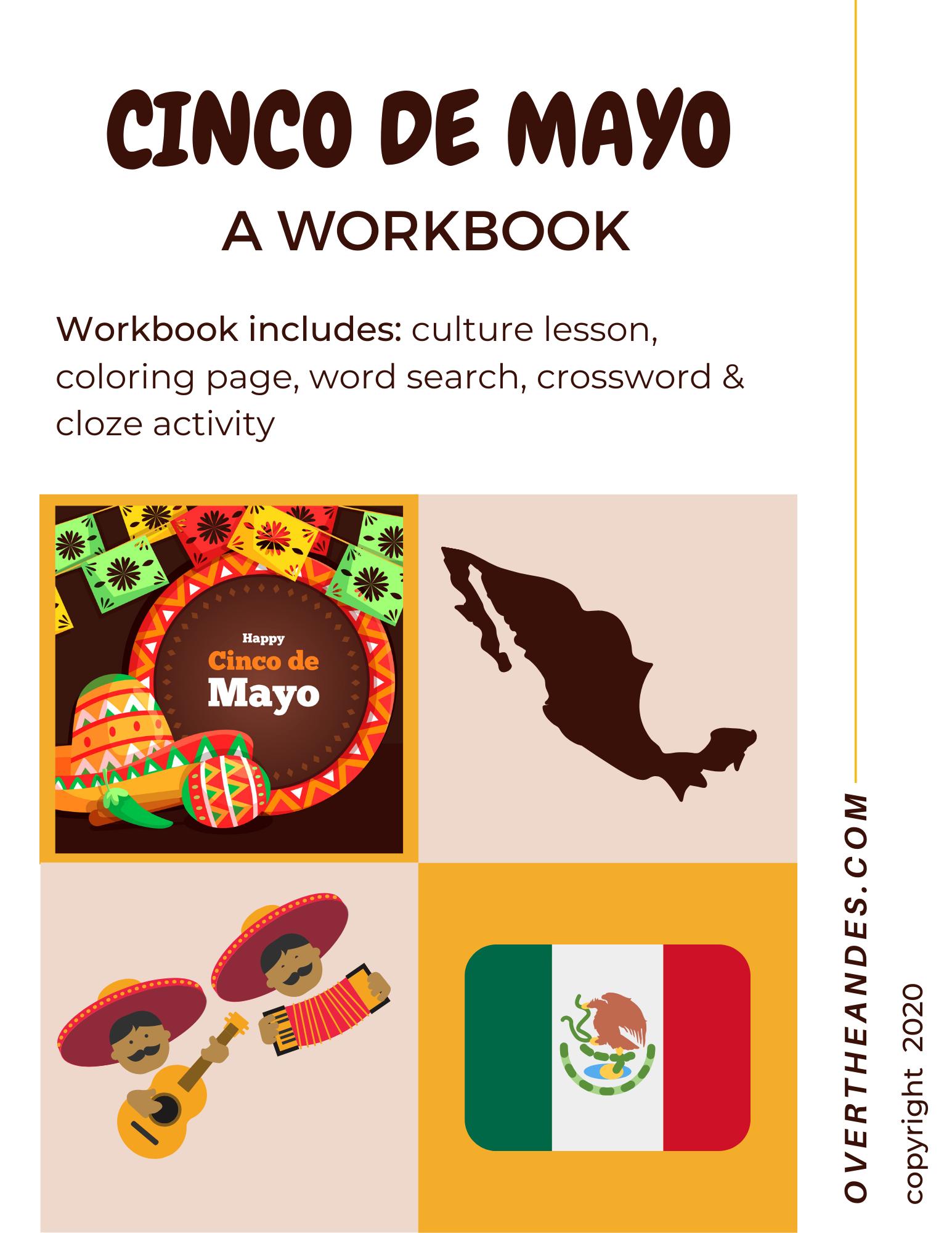 Cinco De Mayo Workbook Culture Reading Plus Activities