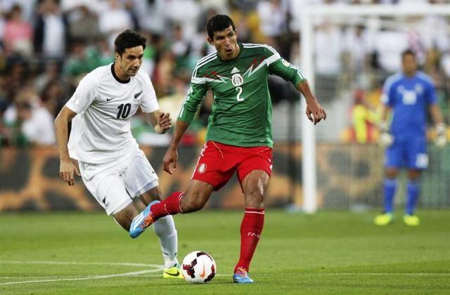 #México avanzó a #Brasil2014 este miércoles ante #NZ:
