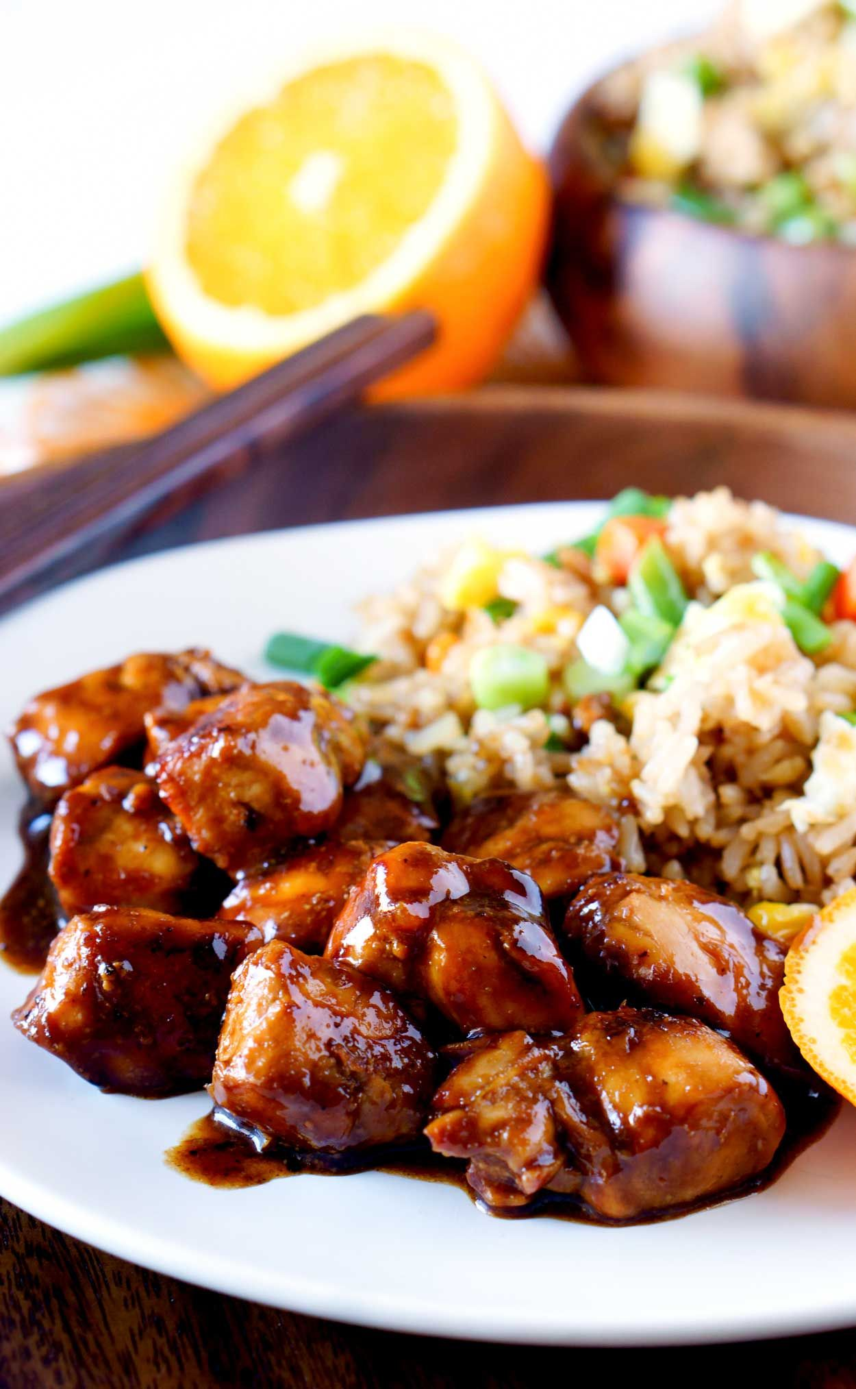 Orange chicken is a chinese take out classic but it isnt exactly orange chicken is a chinese take out classic but it isnt exactly the healthiest for you this orange chicken recipe takes the comfort food classic and forumfinder Gallery