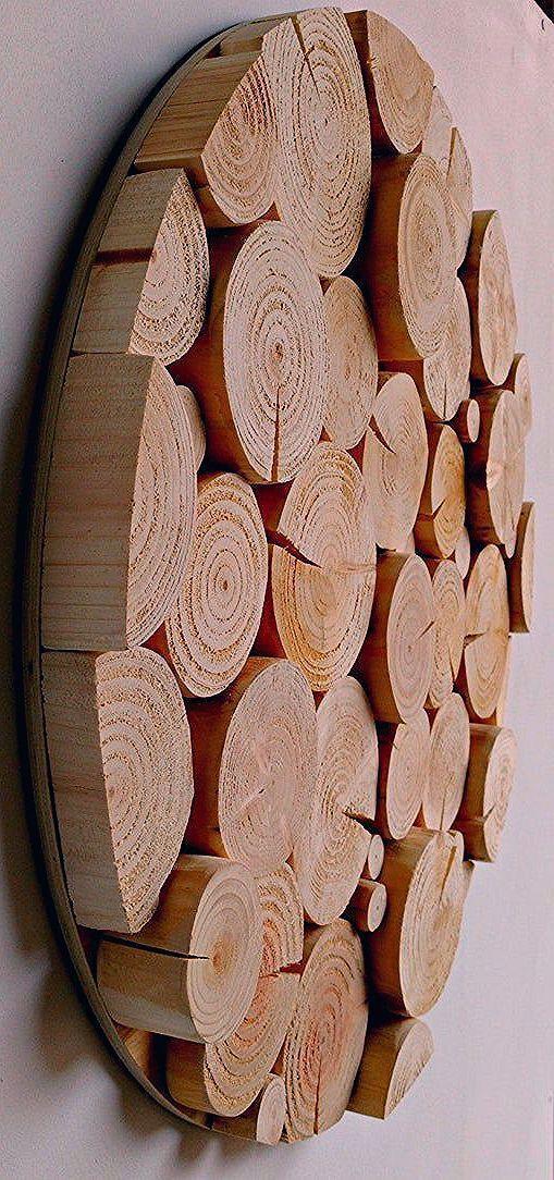 Dekorative Wand
