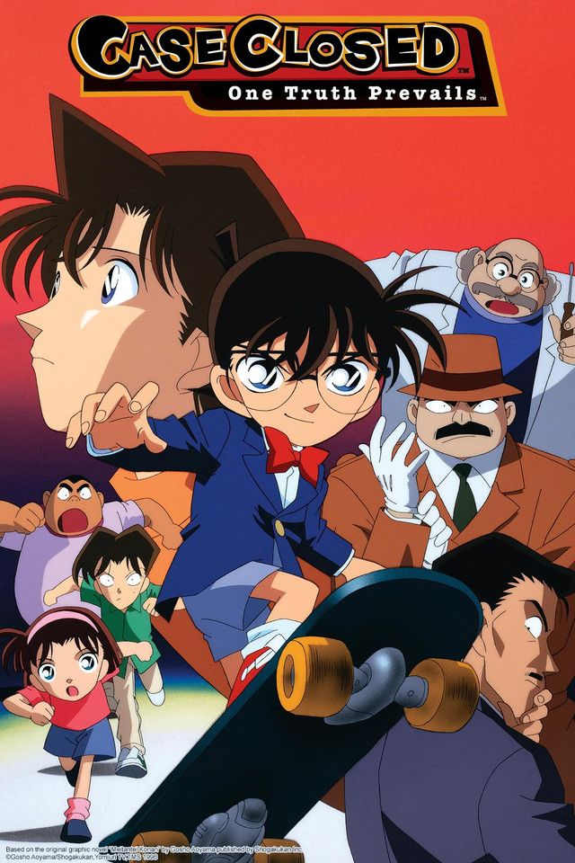 Crunchyroll Case Closed Full episodes streaming online
