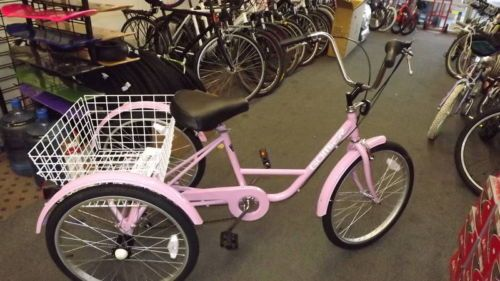 Where can you purchase a used three-wheel bicycle?