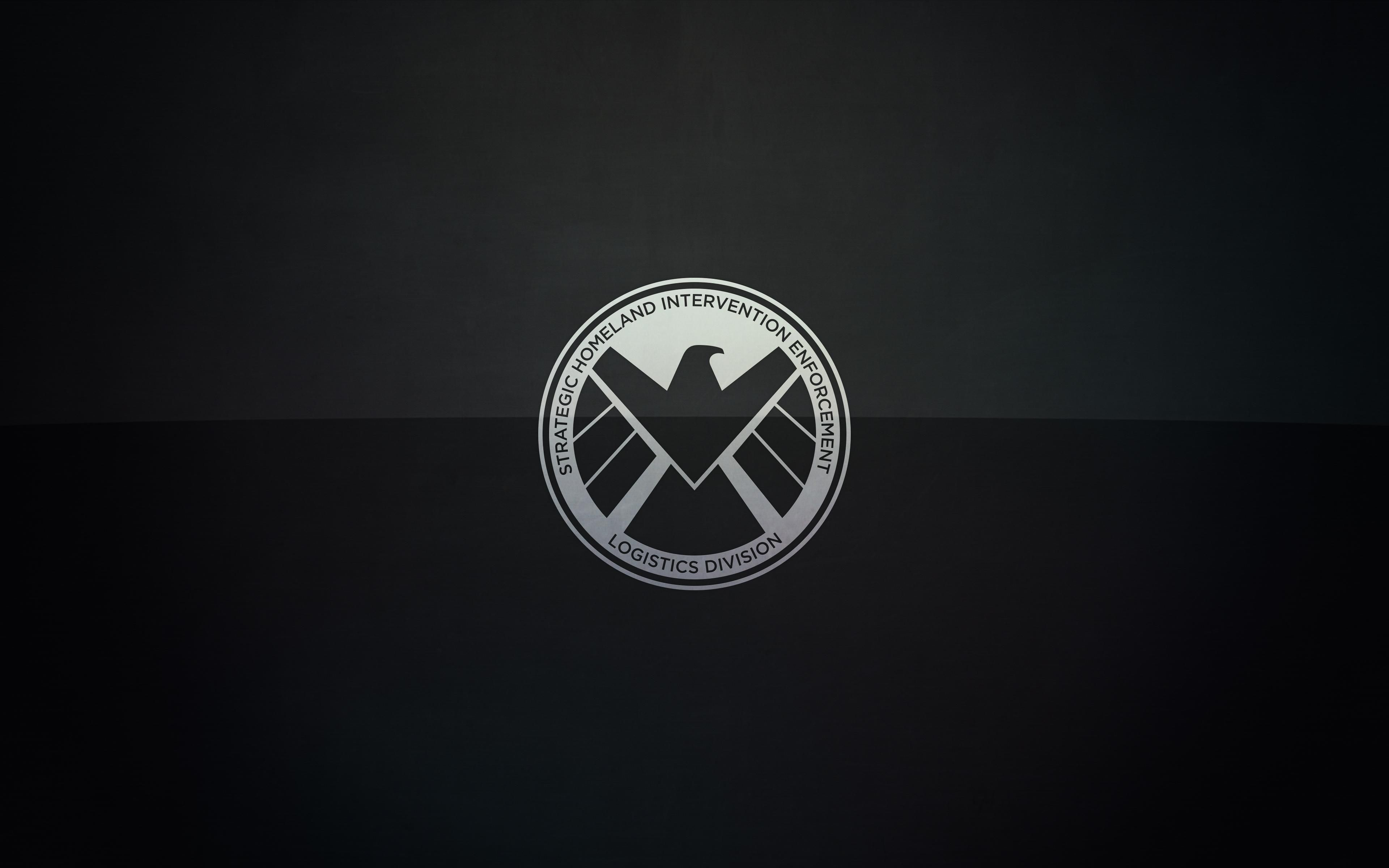 marvel's agents of s.h.i.e.l.d. logo wallpaper wide or hd | tv