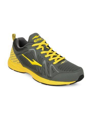 best authentic 988fe ef143 Erke Men Grey Running Shoes   Myntra via  myntra