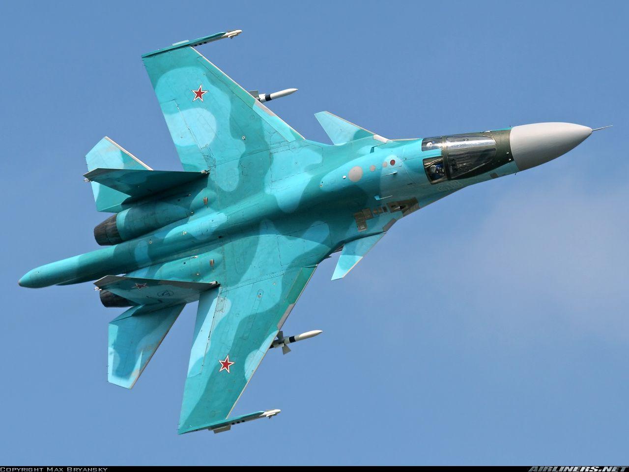 sukhoi su 34 su 32fn russia air force aviation photo