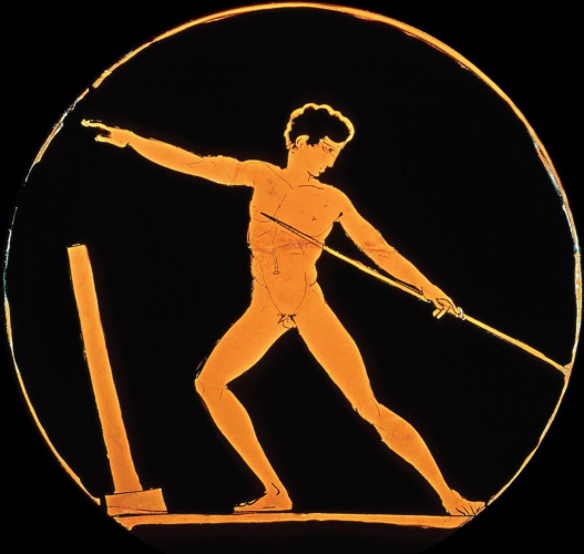 Ancient Greek Athlete with Javelin | Art Inspiration | Pinterest