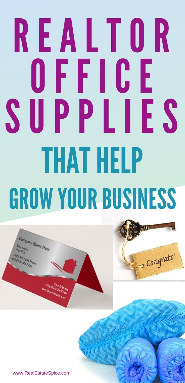 Realtor Supplies That HELP GROW YOUR BUSINESS #realestateagent #realtorbusiness #realestatebusiness