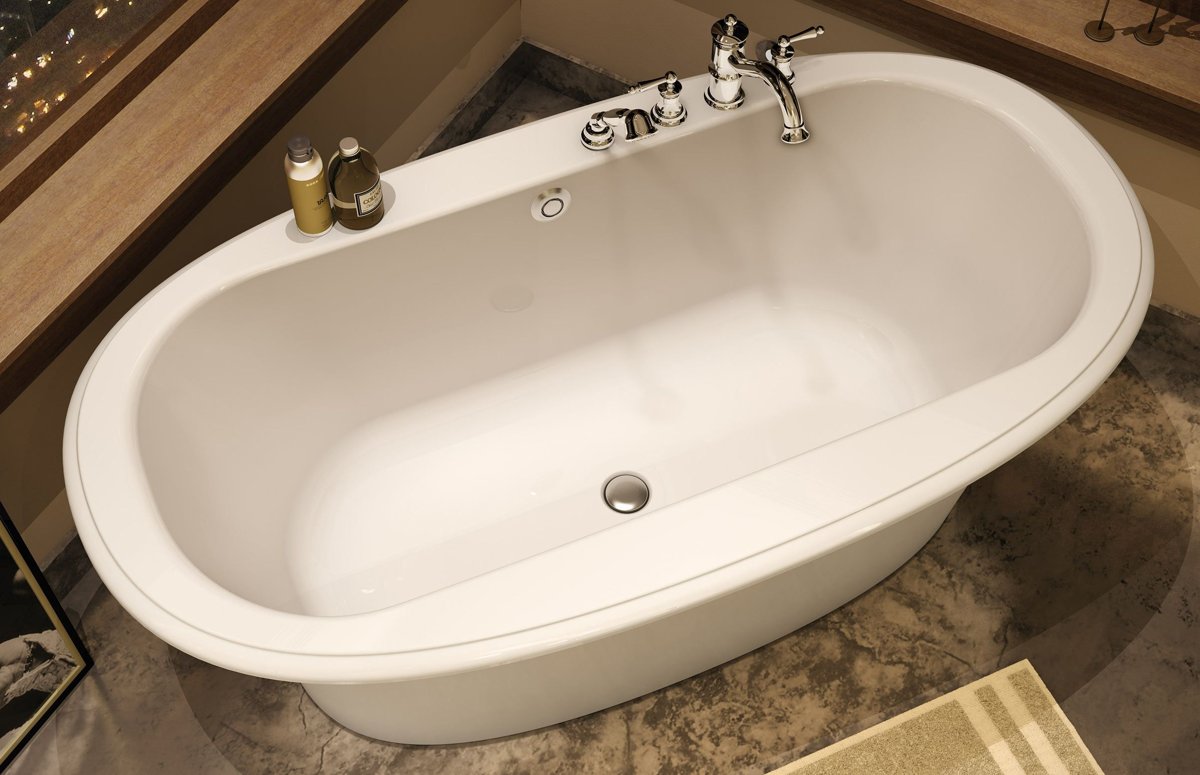 Maax Ella Embossed Freestanding Bathtub Www Maax Com Bathtub